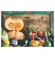Rustic Autumn Vegetables Lantern Press Postcard