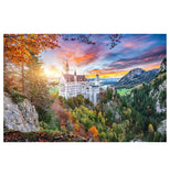 Photography Neuschwanstein Castle Lantern Press Postcard