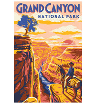 Explorer Grand Canyon Lantern Press Postcard