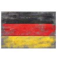 Rustic Flag Germany Lantern Press Postcards