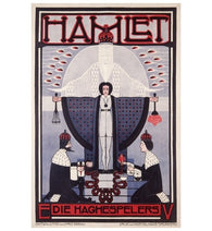 Hamlet Vintage Poster Lantern Press Postcard