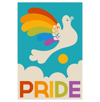Pride Dove Postcard