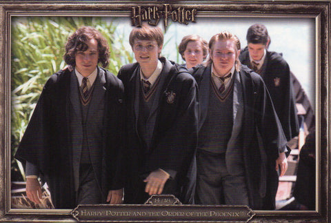 James Potter & Friends 14/18 - Harry Potter and the Chamber of Secrets - Daily Telegraph Promo Postcard