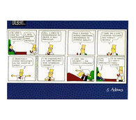 Dilbert the Perfect Employee Scott Adams Dilbert Comic Postcard