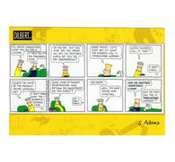 Knowledge Worker Scott Adams Dilbert Comic Postcard