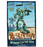Sci Fi Jersey Shore Invaders From the Deep Lantern Press Postcard