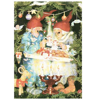 Inge Look Aunties Christmas Postcard