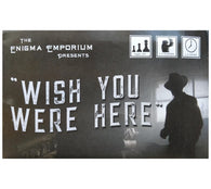 Wish You Were Here Mystery Postcard Puzzle Game by Enigma Emporium