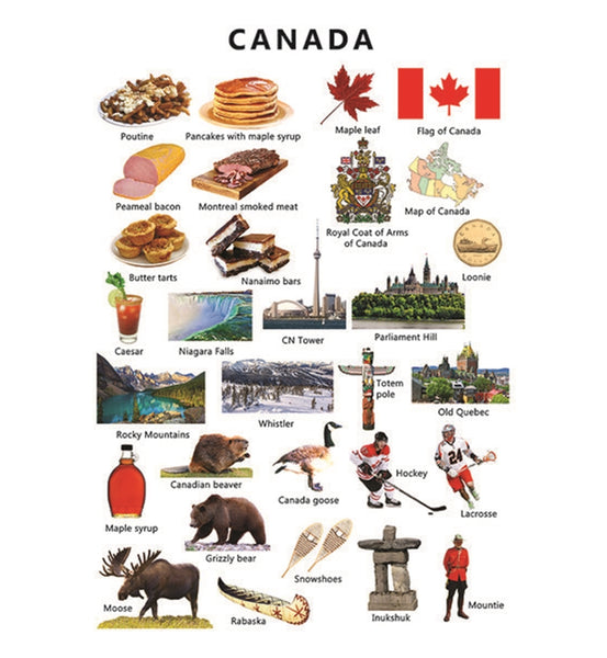 Icons of Canada Postcard