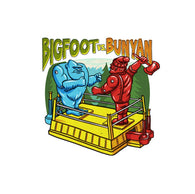Bigfoot vs. Bunyan Rock 'em Sock 'em Robots Lantern Press Postcard
