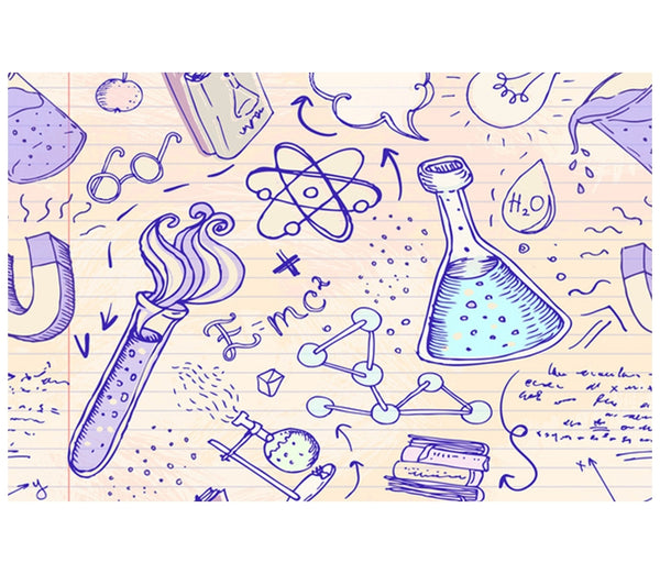 Science Sketches Lantern Press Postcard