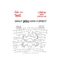Should You Have a Baby Matt Groening Life in Hell Postcard