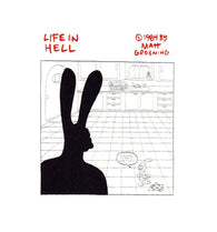 I Swear to God I Didn't Do It Matt Groening Life in Hell Postcard