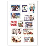 Airplane and Pilot stamps - MaxAndCoPost