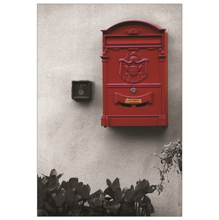 Red Mailbox - Rome, Italy