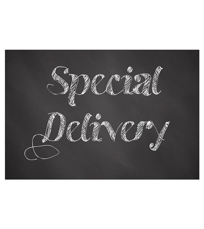 Chalkboard Greetings - Special Delivery