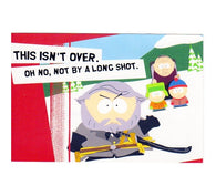 Red Badge of Gayness Southpark Cartoon Postcard