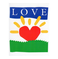 LOVE Heart Sunshine with 20¢ pre-paid postage - USPS Postage Stamp Postcard