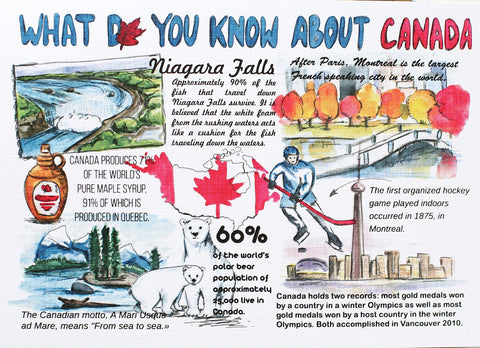 WOW Cards What Do You Know About Canada
