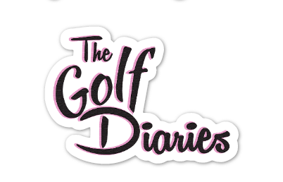 The Golf Diaries sticker -Small