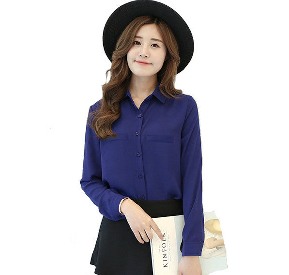 Mia Button Up Blouse