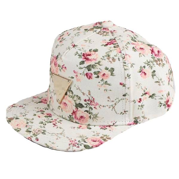 Zia Floral Print Cap - Multiple Colors - InsideMyLuggage