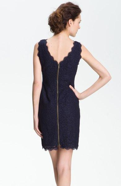 Elsa Lace Sheath Dress