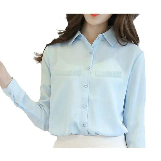 Mia Button Up Blouse - InsideMyLuggage