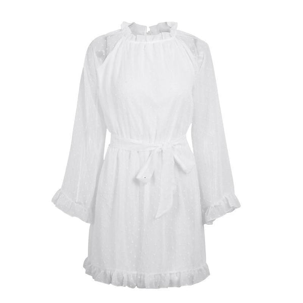 Crystal Chiffon Dress - InsideMyLuggage