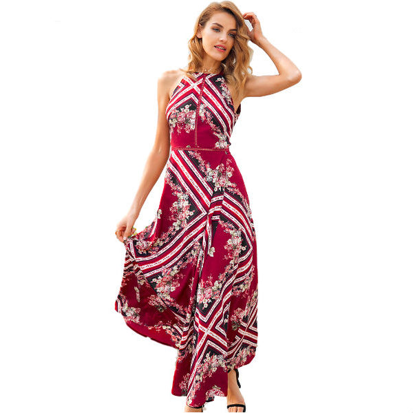 Tiki Maxi Dress - InsideMyLuggage