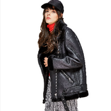 Rider Belted Faux Leather Jacket