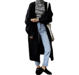 Casual Long Knit Cardigan