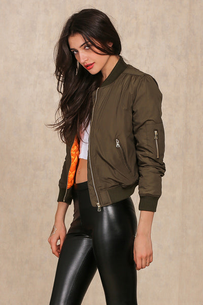 High Fly Bomber Jacket - InsideMyLuggage