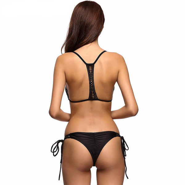 Pamela Split Back Bikini Set - InsideMyLuggage
