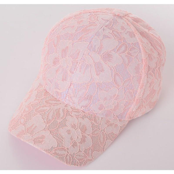 Kary Lace Baseball Caps - Multiple Colors - InsideMyLuggage