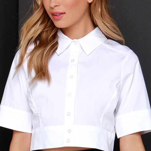 IML European Crop Top Blouse - InsideMyLuggage