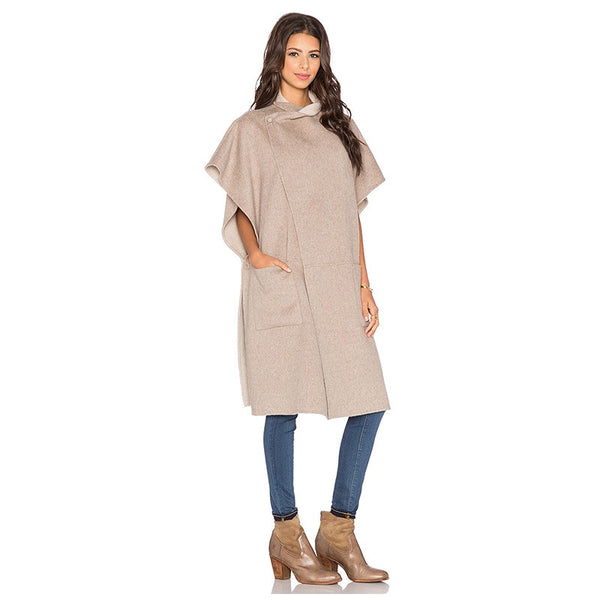 MH Ruffle Short Sleeve Trench Coat - InsideMyLuggage