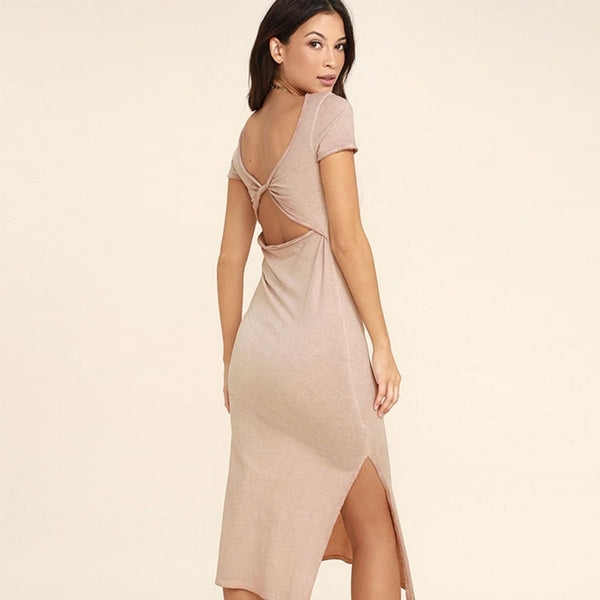 Howi Backless Dress - InsideMyLuggage