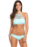 Kayla Halter Wave Bikini - Multiple Colors - InsideMyLuggage