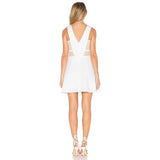 Ms. Sunshine Summer Skater Dress - White - InsideMyLuggage