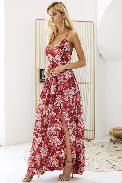 Perrie Maxi Dress - InsideMyLuggage