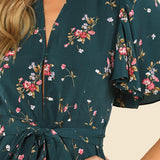 Bohemian Floral Romper - InsideMyLuggage