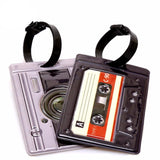 Stereo Tape Travel Tag - InsideMyLuggage