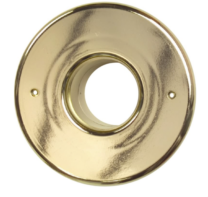 "UPC-56B-BRS - 2"" Supply Outlet, Round, Plastic, Brass Finish - highvelocityoutlets-com"
