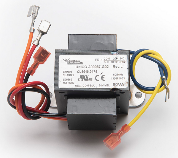 A00057-G02 - Unico Transformer, 208/240 Volt (ST2 Models)