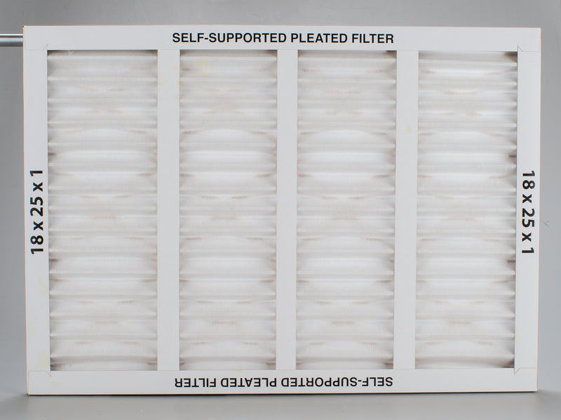 A00558-004 - Filter, Pleated, 18x25x1 inch (M2430V1) - highvelocityoutlets-com