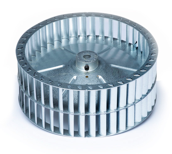 A00757-001 - Unico Wheel, Blower, 9.5D x 1.50 SWSI (U1218), for ACB, EC2/1, and ST2