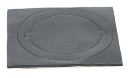 "A01502-002 - Gasket, Round, Flanged Outlet, 2.5""  (63.5 mm)"