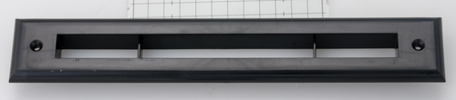A00297-002-BLK - Black Trim Plate for UPC-67 and 68 2