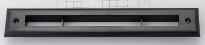 Black Trim Plate for UPC-67 and 68 2